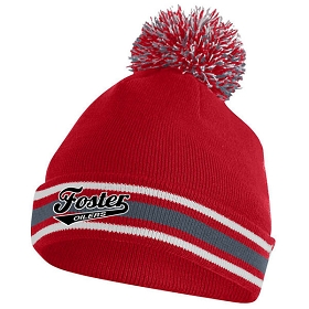 Foster Oilers Augusta Pep It Beanie
