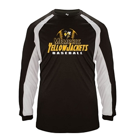 Memphis Baseball Badger Sport® Hook Long Sleeve Tee