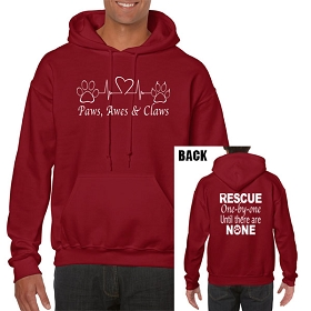 Paws, Awes & Claws Gildan® Heavy Blend™ Hooded Sweatshirt