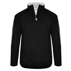 MC Lady Wolves 1/4 Zip Badger Sideline Fleece