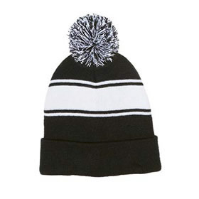 MC Lady Wolves Pom Pom Beanie