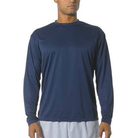 Greyhound Baseball Club Long Sleeve Cooling Performance Crew