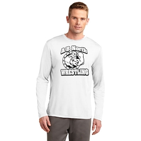 Anchor Bay North Wrestling A4® Cooling Performance Long Sleeve Crew