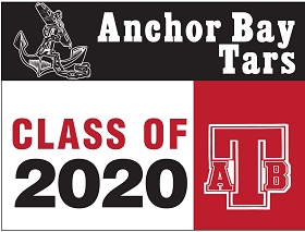 Anchor Bay HS Senior Yard Sign - No Name