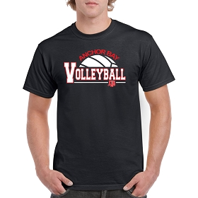 AB Volleyball T-Shirt by Gildan