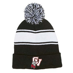 Chippewa Valley Tennis Enza Pom Pom Beanie