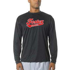 Foster Oilers Cooling Performance Long Sleeve Crew
