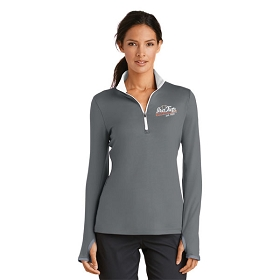 Ira Twp. LL Nike Ladies Dri-FIT Stretch 1/2-Zip Cover-Up