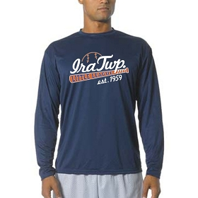 Ira Twp. LL A4® Cooling Performance Long Sleeve Crew