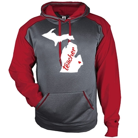 MEA-Yale Badger Sport Heather Hood