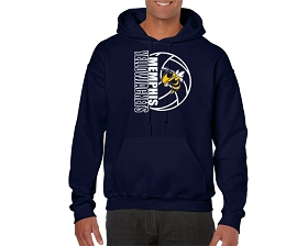 Memphis HS Volleyball Hooded Sweatshirt
