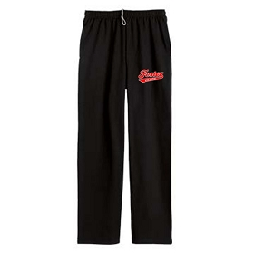 Foster Oilers Pocketed Open Bottom Sweatpants