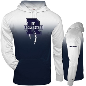 RHS SOFTBALL VARSITY PLAYERS ONLY - Ombre Hood
