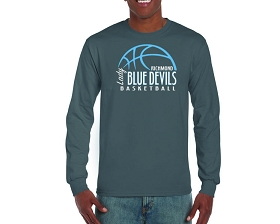 Richmond Girls Basketball Long Sleeve T-Shirt