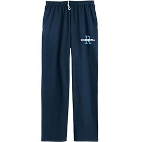 RMS 7th & 8th Grade Volleyball JERZEES® NuBlend® Pocketed Open Bottom Sweatpants