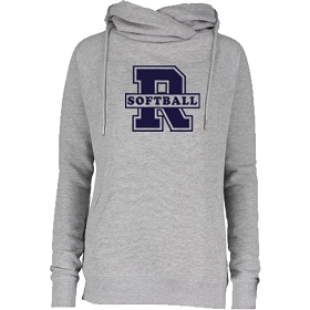 RHS Softball Funnel Neck Hoodie
