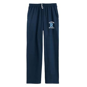 RHS Softball JERZEES® NuBlend® Pocketed Open Bottom Sweatpants