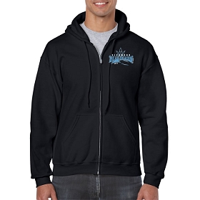 TAFL Football Gildan® Heavy Blend™ Full Zip Hooded Sweatshirt