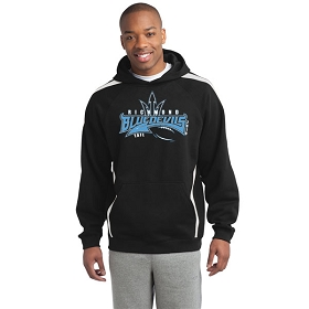 TAFL Football Sport-Tek® Sleeve Stripe Pullover Hooded Sweatshirt