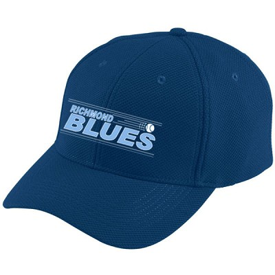 Blues Adjustable Wicking Mesh Cap