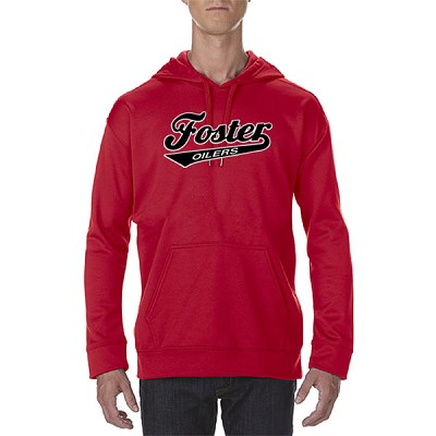 Foster Oilers Performance Tech Hooded Sweatshirt