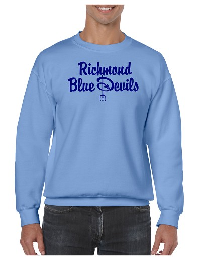 Richmond Blue Devils Crewneck Sweatshirt