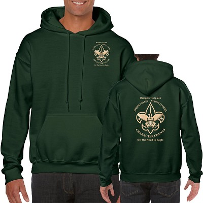 Troop 245 Hooded Sweatshirt